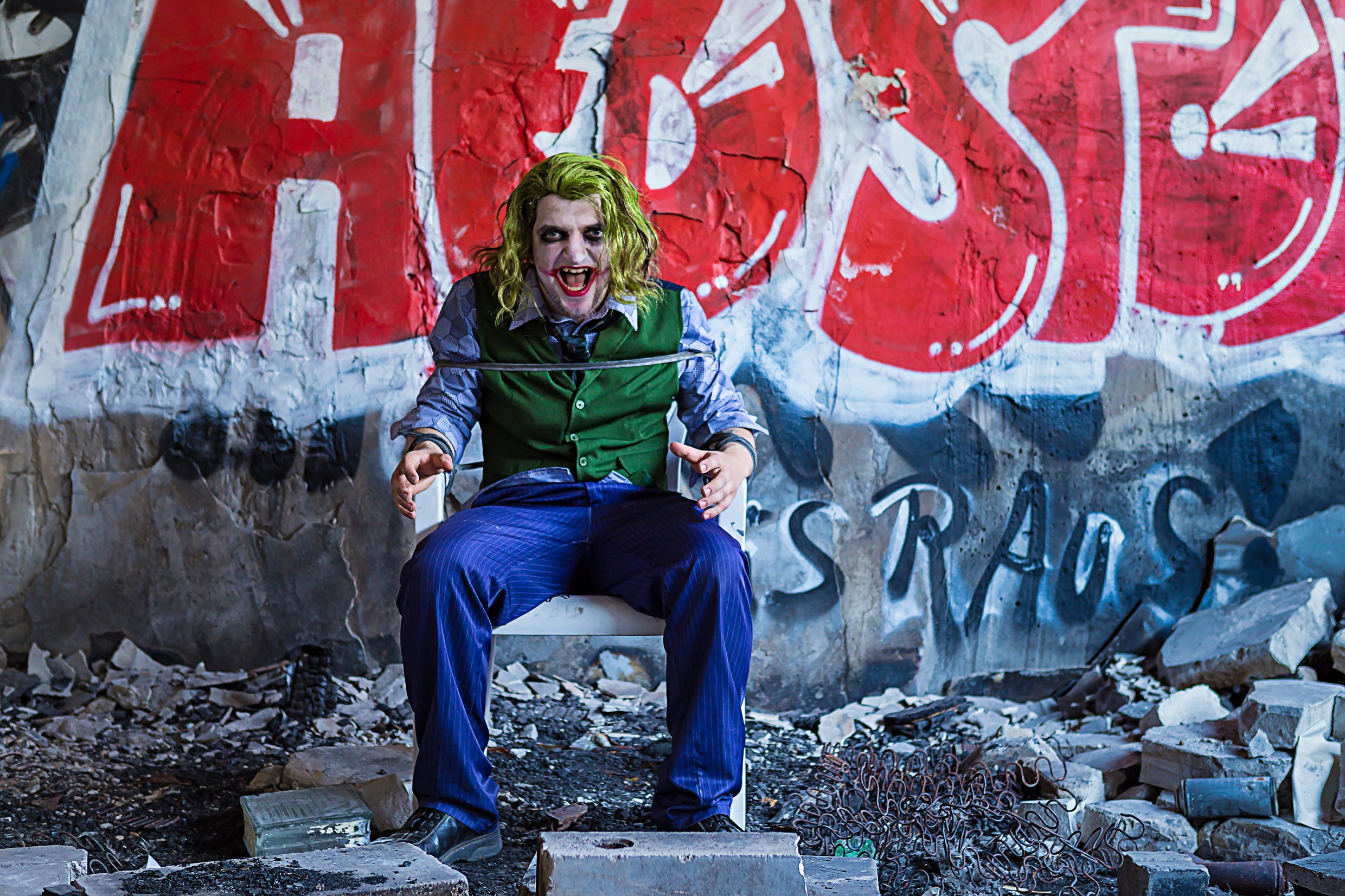 Cosplay Shooting mit der Cosplay Wrecking Crew